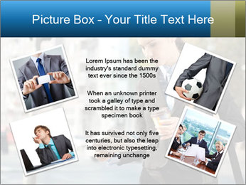 Businesswoman In City PowerPoint Template - Slide 24