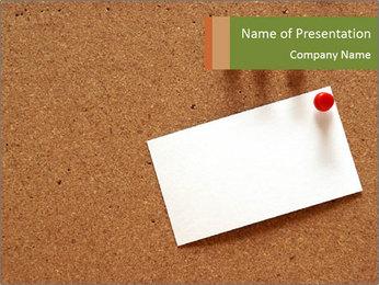 Message Sticker PowerPoint Template