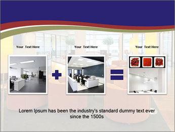 Orange Sofas In Lounge Area PowerPoint Template - Slide 22