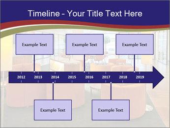 Orange Sofas In Lounge Area PowerPoint Template - Slide 28