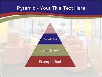 Orange Sofas In Lounge Area PowerPoint Template - Slide 30
