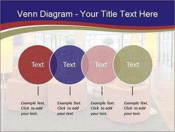 Orange Sofas In Lounge Area PowerPoint Template - Slide 32