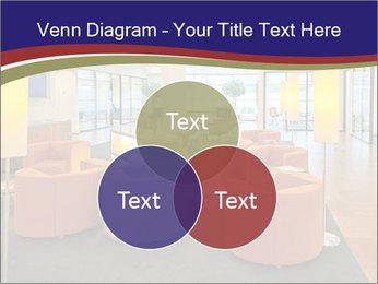 Orange Sofas In Lounge Area PowerPoint Template - Slide 33