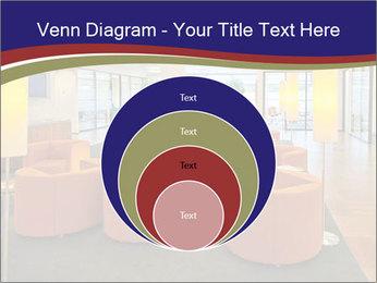 Orange Sofas In Lounge Area PowerPoint Template - Slide 34