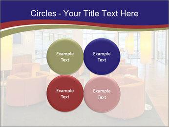 Orange Sofas In Lounge Area PowerPoint Template - Slide 38