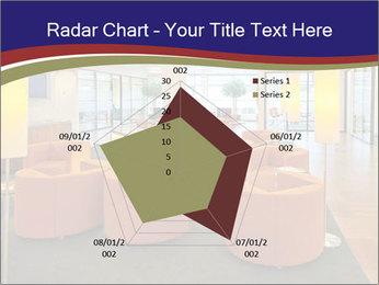Orange Sofas In Lounge Area PowerPoint Template - Slide 51