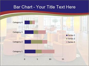 Orange Sofas In Lounge Area PowerPoint Template - Slide 52