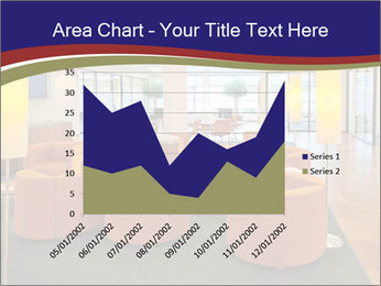 Orange Sofas In Lounge Area PowerPoint Template - Slide 53