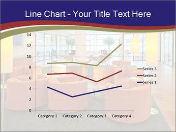 Orange Sofas In Lounge Area PowerPoint Template - Slide 54