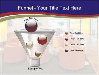 Orange Sofas In Lounge Area PowerPoint Template - Slide 63