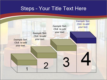 Orange Sofas In Lounge Area PowerPoint Template - Slide 64