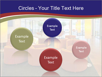 Orange Sofas In Lounge Area PowerPoint Template - Slide 77