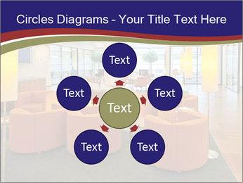 Orange Sofas In Lounge Area PowerPoint Template - Slide 78