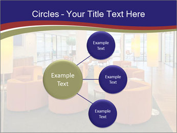 Orange Sofas In Lounge Area PowerPoint Template - Slide 79
