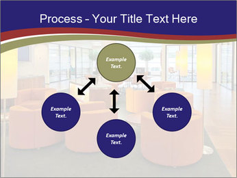 Orange Sofas In Lounge Area PowerPoint Template - Slide 91