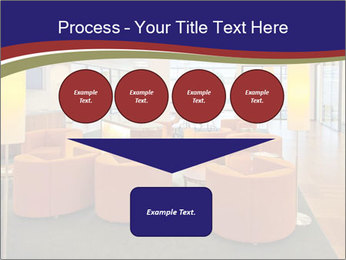 Orange Sofas In Lounge Area PowerPoint Template - Slide 93