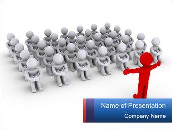 Business Internship PowerPoint Template - Slide 1