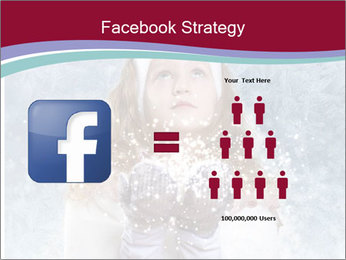 Girl And Snowflakes PowerPoint Template - Slide 7