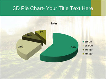 Sunshine In Forest PowerPoint Template - Slide 35