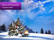 Magic Mountain PowerPoint Template