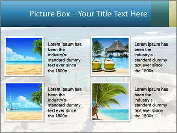 Rocks On Beach PowerPoint Template - Slide 14