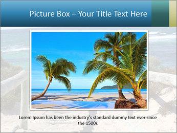 Rocks On Beach PowerPoint Template - Slide 15