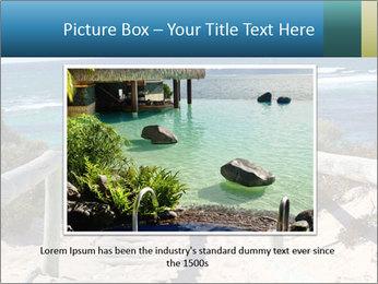 Rocks On Beach PowerPoint Template - Slide 16