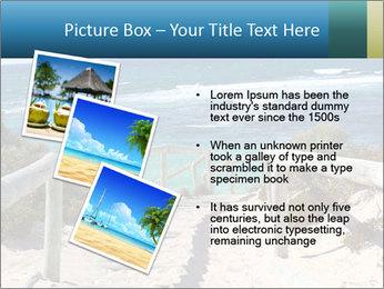 Rocks On Beach PowerPoint Template - Slide 17