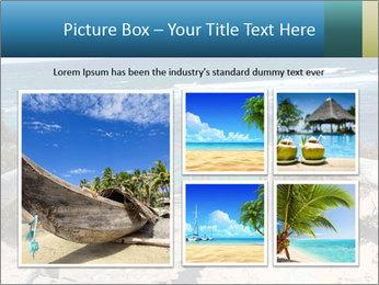 Rocks On Beach PowerPoint Template - Slide 19