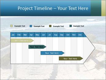 Rocks On Beach PowerPoint Template - Slide 25