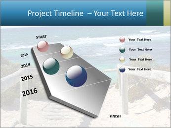 Rocks On Beach PowerPoint Template - Slide 26