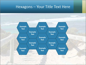 Rocks On Beach PowerPoint Template - Slide 44