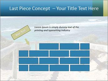 Rocks On Beach PowerPoint Template - Slide 46