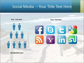 Rocks On Beach PowerPoint Template - Slide 5