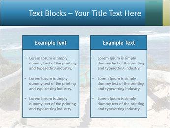 Rocks On Beach PowerPoint Template - Slide 57