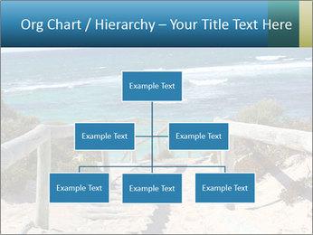Rocks On Beach PowerPoint Template - Slide 66