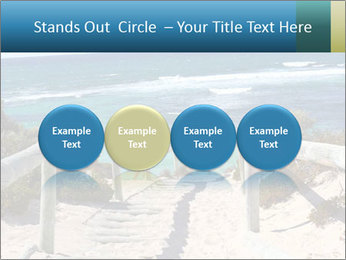 Rocks On Beach PowerPoint Template - Slide 76
