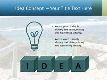 Rocks On Beach PowerPoint Template - Slide 80