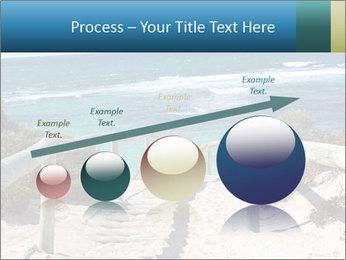 Rocks On Beach PowerPoint Template - Slide 87