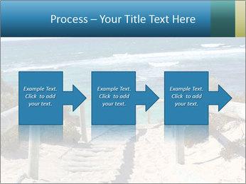 Rocks On Beach PowerPoint Template - Slide 88