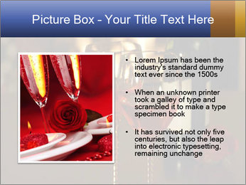 Romance And Two Glasses Of Wine PowerPoint Template - Slide 13