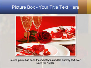 Romance And Two Glasses Of Wine PowerPoint Template - Slide 15