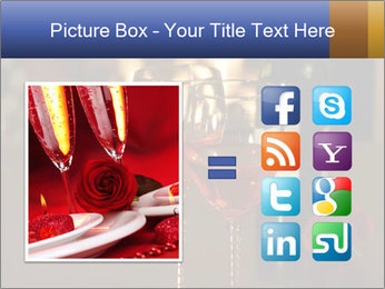 Romance And Two Glasses Of Wine PowerPoint Template - Slide 21