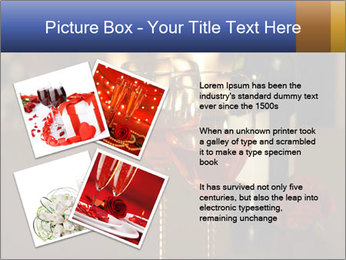Romance And Two Glasses Of Wine PowerPoint Template - Slide 23
