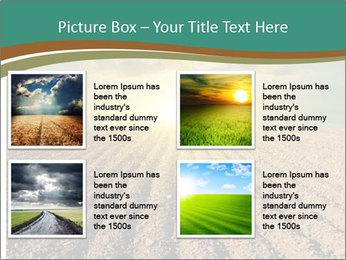 Sunrise In Wineyard PowerPoint Template - Slide 14