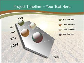 Sunrise In Wineyard PowerPoint Template - Slide 26