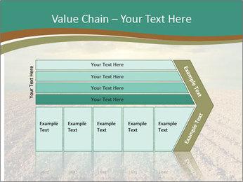 Sunrise In Wineyard PowerPoint Template - Slide 27