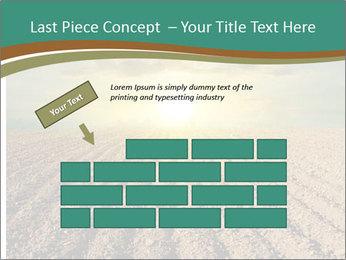 Sunrise In Wineyard PowerPoint Template - Slide 46