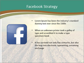 Sunrise In Wineyard PowerPoint Template - Slide 6
