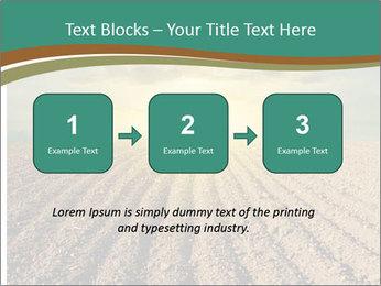 Sunrise In Wineyard PowerPoint Template - Slide 71